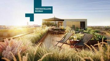 ZUKUNFT des Wohnens: Hochwertiges Zuhause mit Balkon, Dachterrasse + Dachgarten