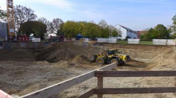 MUC-Waldperlach   Vorzugs-Lage Nähe Waldheimplatz   Baugrundstück für z.B. 5-Familienhaus   Vorbescheid erteilt