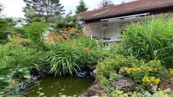 Aubing/Lochhausen, ruhiges u. sonniges SW-Grundstück für ein Einfamilienhaus und Garage.