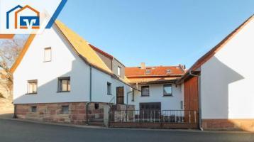 Provisionsfrei für den Käufer: Einfamilienhaus mit Scheune in Oechsen zu verkaufen!