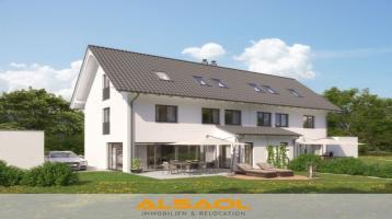 ALSAOL Immobilien: Neubau - Luxuriöse Doppelhaushälfte - KFW 55 - in sehr guter Lage in Gräfelfing!