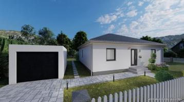 ALTERSGERECHT NEU BAUEN in Schwarzenbach - Grundstück, Bodenplatte und Garage inklusive.