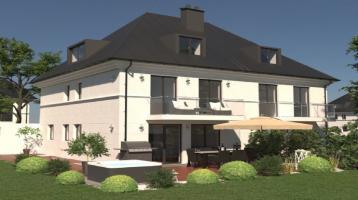 Moderne DHH-Architekten-Villa --- Familientraum