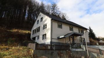 Viel Platz und viel Natur - Zweifamilienhaus im Frankenwald