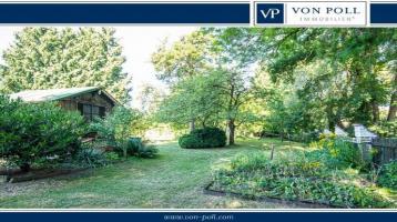 Immobilie mit großem uneinsehbaren Garten in sehr guter Lage!