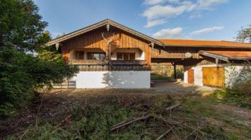 Seltenes ehem. Bauernhaus mit Einliegerwohnung und Studio