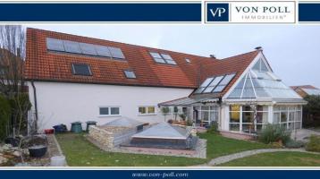 Stilvoll und Großzügig: Haus mit Praxis-/Büroräumen zentral in Lauingen
