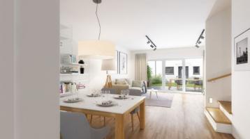 | JETZT NOCH BAUKINDERGELD SICHERN! | NEUBAU REIHENHAUS, 5-Zimmer auf fast 120m² mit Terrasse und Garten