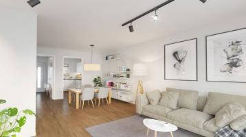 | REIHENMITTELHAUS | NEUBAU REIHENHAUS, 5-Zimmer auf fast 120m² mit Terrasse und Garten