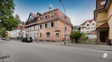 Gut aufgeteilte 3-Zimmer-Wohnung mit Wintergarten und Garage in Lichtental