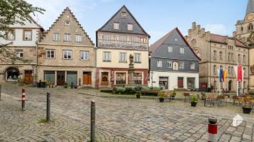 Vermietetes MFH mit 8 Wohnungen und Denkmalschutz in zentraler Lage in Kronach