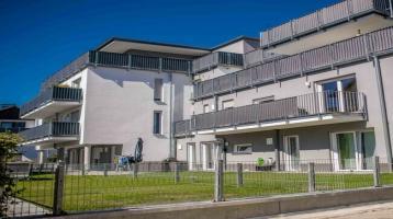 Neuwertige Eigentumswohnung mit Terrasse und Garten