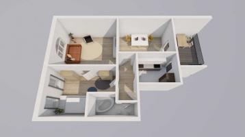 3-Zimmer Altbauwohnung *Beletage* im Herzen von Darmstadt-Eberstadt