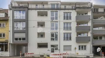 Sofort frei - Attraktive 2-Zimmerwohnung mit Südwest-Balkon, EBK und TG-Stellplatz im Paulusviertel