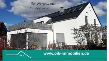 ## Frei nach Absprache, Worpswede, top Lage, Haus + Einliegerwhg., exkl Ausst, Galerie-Gartenhaus ##