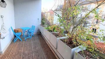 Wunderschöne helldurchflutete Wohnung im Herzen von Darmstadt sucht neue Eigentümer.