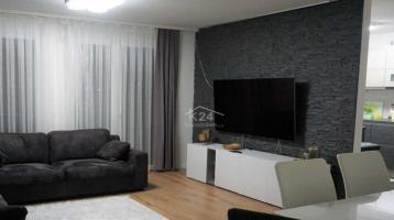 Moderne und gepflegte 4 Zimmer Wohnung mitten in Hagenbach.