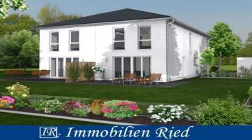 Neubau einer Doppelhaushälfte mit hochwertiger Ausstattung und Südausrichtung in Schrobenhausen
