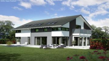 Doppelhaushälfte KfW 55 mit passendem Grundstück