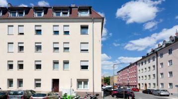 Vermietetes MFH in gefragter Lage von Nürnberg, Seeleinsbühl