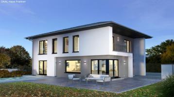 Ihr Traumhaus am Hang inkl. Bauplatz + KfW 55 Effizienzhaus