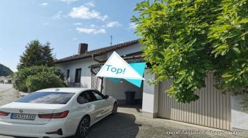 An frequentierter Ausfallstraße - Bürogebäude mit Garage in Deggendorf / Deggenau - voll unterkellert - großer Speicher *****