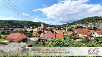 WOW was für eine Fernsicht! Tolles Landhaus mit vielen Optionen in ruhiger Lage von Pommelsbrunn