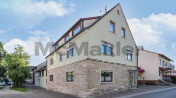 Rund 450 m² extra: Bauernhaus mit Ausbau- u. Gestaltungspotenzial - idyllisch bei Bamberg