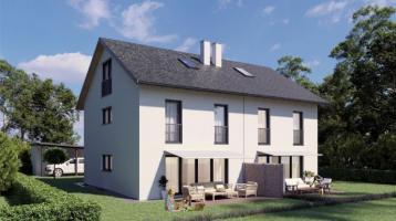 Platz für die ganze Familie! Exklusive Neubau Doppelhaushälfte in sehr ruhiger Wohnlage