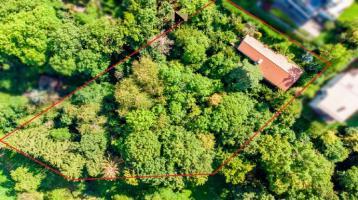 Ruhig und naturnah: großflächiges Grundstück in gehobener Lage von Gerlingen