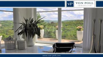 Panoramablick über Würzburg - exklusive Villa - einzigartige Privatsphäre !!!