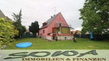 Lage! Zentrumnahes Einfamilienhaus mit großem Garten in Schrobenhausen zu verkaufen - Ihr Immobilienexperte SOWA Immobilien & Finanzen
