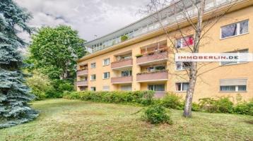 IMMOBERLIN.DE - Toplage! Sanierte vermietete Wohnung mit Südloggia & sehr hellem Ambiente
