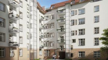 2-Zimmer-Altbauwohnung zum Selbstbezug im ruhigen Gartenhaus in Berlin-Mitte
