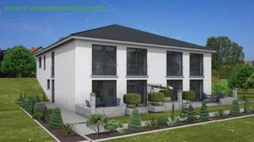 Neubau eines Energiespar- Doppelhauses in Adelsdorf/Aisch