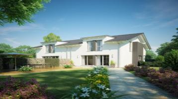 Reales Grundstück - Eigenheim zum Familienglück - Doppelhaushälfte mit viel Platz - Unverbaubarer Blick in die Natur