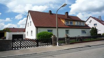 Provisionsfrei Zweifamilienhaus mit Anliegerwohnung in perfekter Lage zwischen Rednitz und Main-Donau-Kanal Nürnberg Katzwang