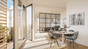 Modernes Apartment mit Balkon und Loftcharakter