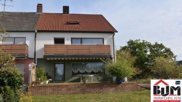 *Eckhaus - Wohn-/Esszimmer ca. 35 m² - Bäder mit Fenster - Garage*