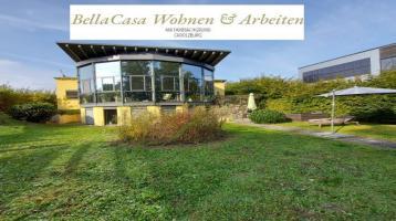 PROVISIONSFREI!! 266 m² Wfl/Nfl. ** BellaCasa Wohnen & Arbeiten am Farrnbachgrund Cadolzburg** Genießen Sie Ausblick ...