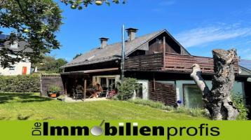 1042 - Älteres Haus mit traumhaftem Garten (2. Baurecht) in Lichtenberg i. Frankenwald